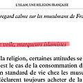 Selon Hakim El Karoui, le <b>halal</b> et le voile seraient des