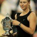 Sharapova gagne l'us open