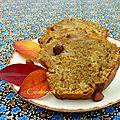 Cake moelleux aux pommes/noisettes/café