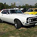 <b>Chevrolet</b> <b>Camaro</b> SS 383 hardtop coupe-1968