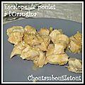 Escalope de poulet à l'orangina