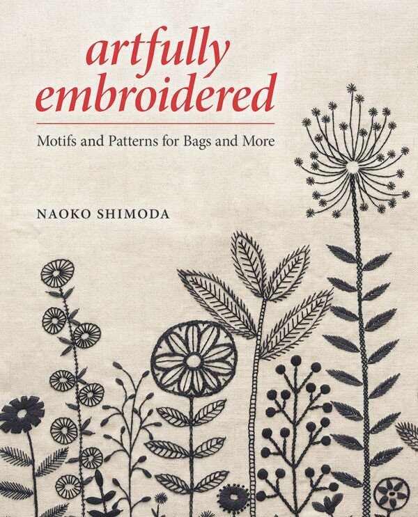 Artfully embroiderered
