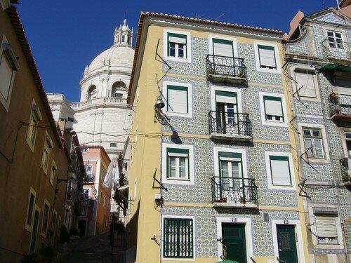 Maisons aux façades de céramique