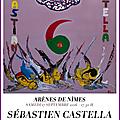 S. castella réalise son solo contre 6 adolfo martin en soutien à la candidature de nîmes au patrimoine mondial de l'unesco