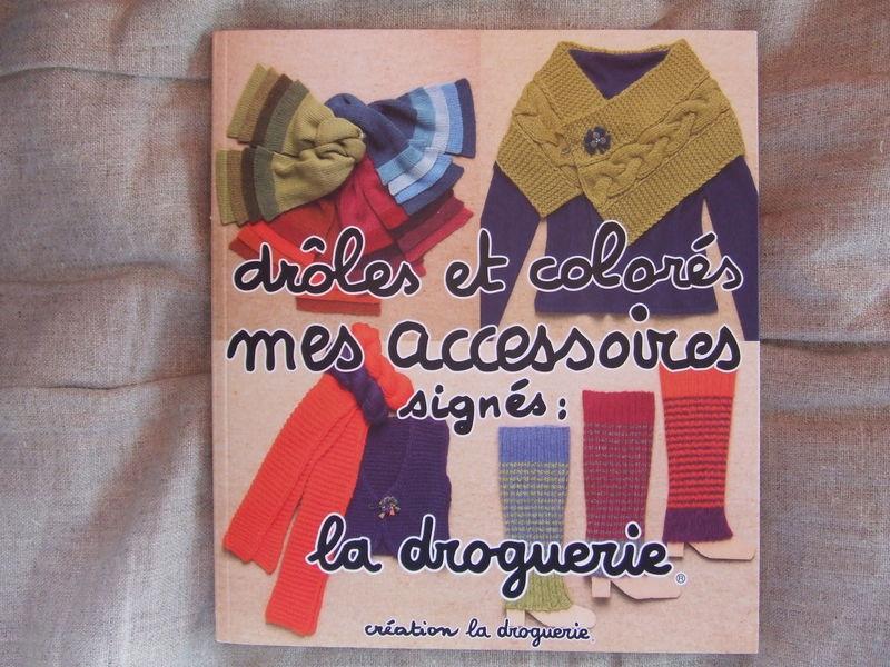 livre accessoires colorés