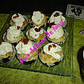 Cupcake aux olives