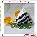 Poisson berlingot crochet tuto