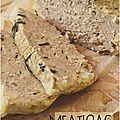..meatloaf - veau, mozzarella et romarin..