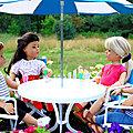 Fleur, Elsa, Natasha et Marysol se rencontrent
