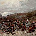 Beauquesne, scène de la guerre de 1870 (1896)