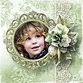 All is Calm - Kit by Ilonkas Scrapbook Designs