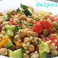 Salade d' orge.
