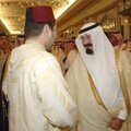 Price Moulay Rachid and King Abdullah on state visit to Saudi Arabia October 14-18, 2006