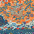 The Multiple Shades of Power. A Fine Selection of Imperial Chinese Textiles at Bonhams London, 7 november 2019