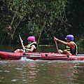 descente en canoë à Loung Namtha