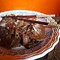 Veau à la sauce d'huitre