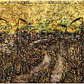 <b>Anselm</b> Kiefer: Field of the Cloth of Gold à la Galerie Gagosian, Le Bourget