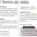 JA TENNIS DE TABLE DE MORDELLES