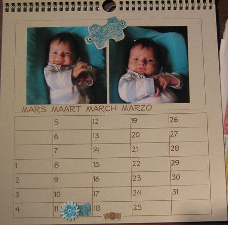 calendrier 03 - mars