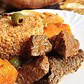 Tièp bou Yap2(riz sénégalais à la viande)