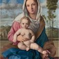 Giovanni Bellini (?1431/6-1516 Venice) The <b>Madonna</b> <b>and</b> <b>Child</b> in a landscape.