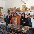 Monument Valley : Amandine, Tania, un indien, Florie, Sandra, Ev