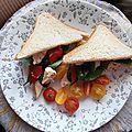 Summer sandwich de salon