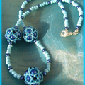 Collier Octa turquoise