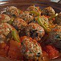 Boulettes de viande hachée au curry