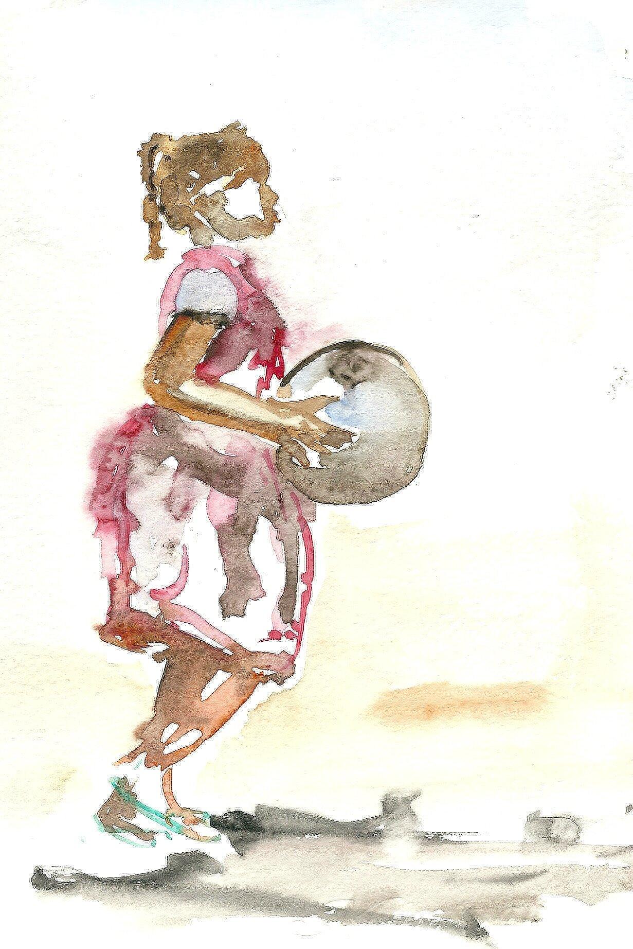 petite fille au ballon