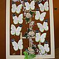 Plan de table mariage - thème printemps et nature