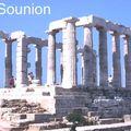 Cap Sounion, au sud d'Athènes