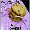 Cookies aux pépites de carambar & chocolat