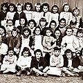 les filles de la Souys 1950