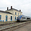 <b>Chartres</b> à Courtalain : le train à travers la Beauce