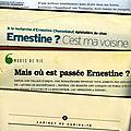 Ernestine ?… c'est ma voisine !