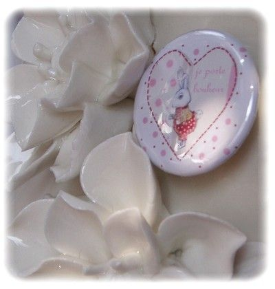 Petit badge tendre