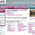 Les ateliers des archives de la vendée : présentation du site