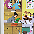 Collection ... <b>AFFICHE</b> SCOLAIRE NATHAN (1968) * Le magasin
