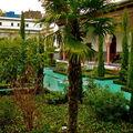 Le jardin de la Grande Mosquée de Paris.