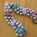 Bracelet crystal & Rocailles