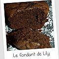 Goûter # 7: the fondant au chocolat