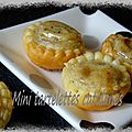 Mini-tartelettes catalanes