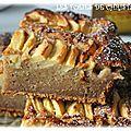 Gâteau épicé aux pommes, dattes ..
