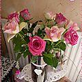 ♥ des roses pour débuter la semaine ♥