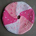 Frisbees roses pour blabla couture