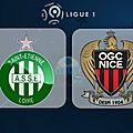 Match nice vs saint-etienne mercredi 08/02/2017 !