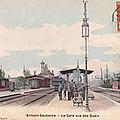 Les quais de la gare d'<b>Ermont</b>-Eaubonne... hier et aujourd'hui