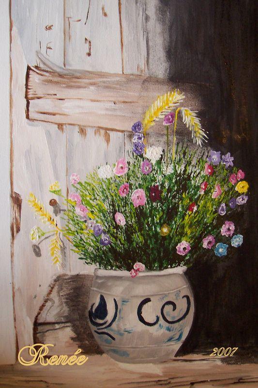 Personnes notables Un joli bouquet de fleurs des champs ! - Académie du jeudi QM19