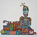 Un robot pour la chambre d'elliot
